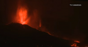 Read more about the article **LIVE** Views of Canary Island Volcano