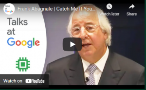 Read more about the article Catch Me If You Can   Frank Abagnale   Talks at Google